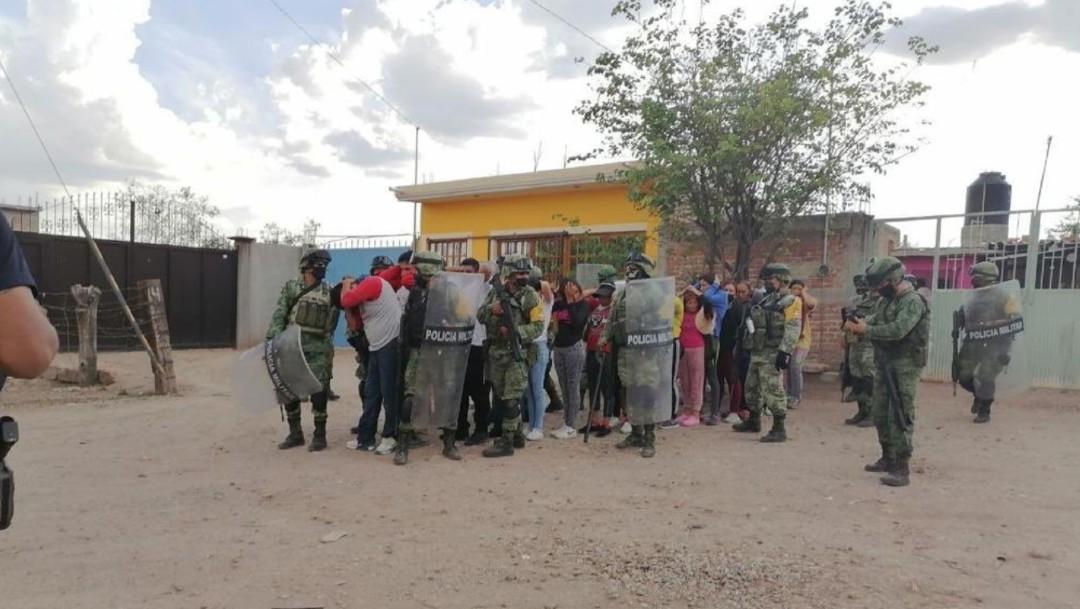 Detienen a 26 integrantes del Cártel de Santa Rosa de Lima en Guanajuato