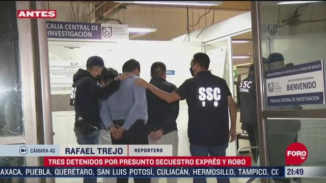 detienen a secuestradores en alcaldia alvaro obregon
