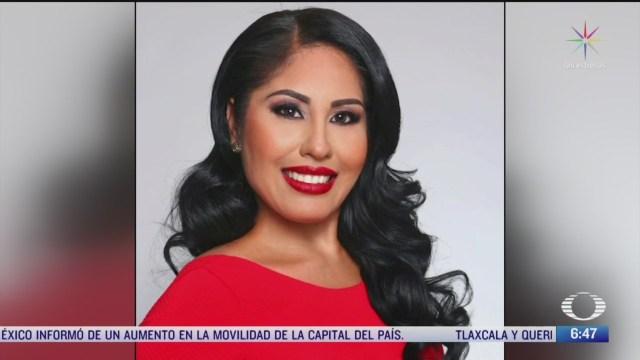 diputada de morena que fue hallada muerta llevaba un mes desaparecida