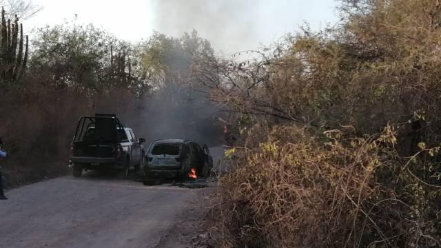 Foto: Comando armado ataca a elementos de la Marina en Culiacán, Sinaloa, 19 de junio de 2020, (@Riodoce_mx)
