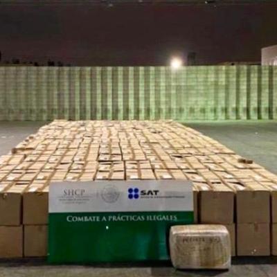 Decomisan 3.5 millones de dólares en drogas en Tijuana