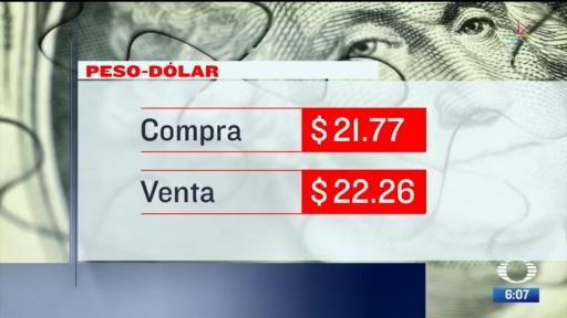 el dolar se vendio en 22 26 en la cdmx