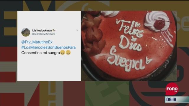 El Hashtag del Día #LosMiercolesSonBuenosPara
