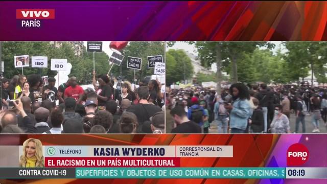 FOTO: 20 de junio 2020,el racismo en francia