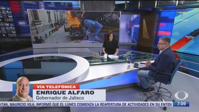entrevista con enrique alfaro para despierta