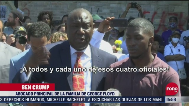 familia de george floyd exige justicia