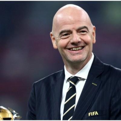 Imagen: Gianni Infantino anunció rescate para el futbol varonil y femenil, 6 de junio de 2020 (Getty Images)