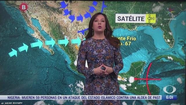 frente frio 67 provocara lluvias en coahuila y san luis potosi