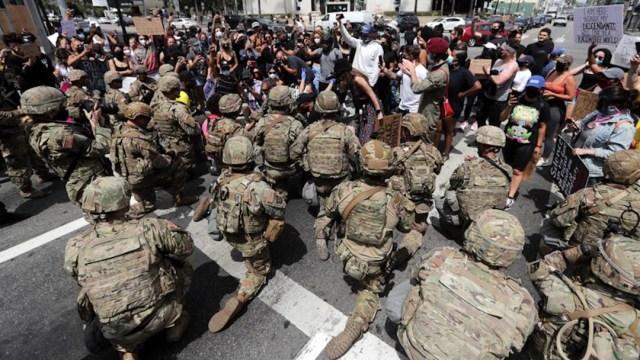 Día 8 de protestas en EEUU por la muerte del afroamericano George Floyd