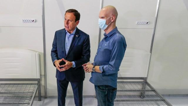 Foto: Alcalde de Sao Paulo, enfermo de cáncer, da positivo a COVID-19 , 13 de junio de 2020, (Getty Images, archivo)