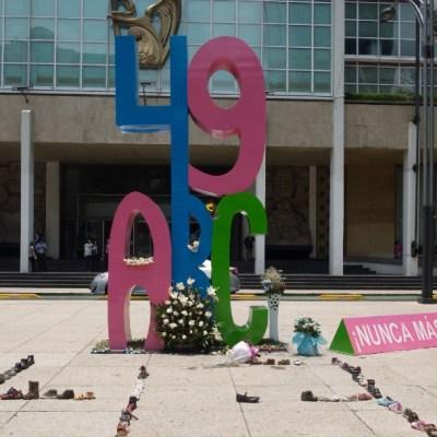 El monumento ABC que se encuentra en frente a las oficinas del IMSS. (Foto: Cuartoscuro/archivo)