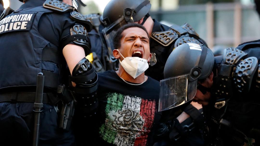 Foto: Mantienen toque de queda EEUU para enfrentar protestas por asesinato de Floyd
