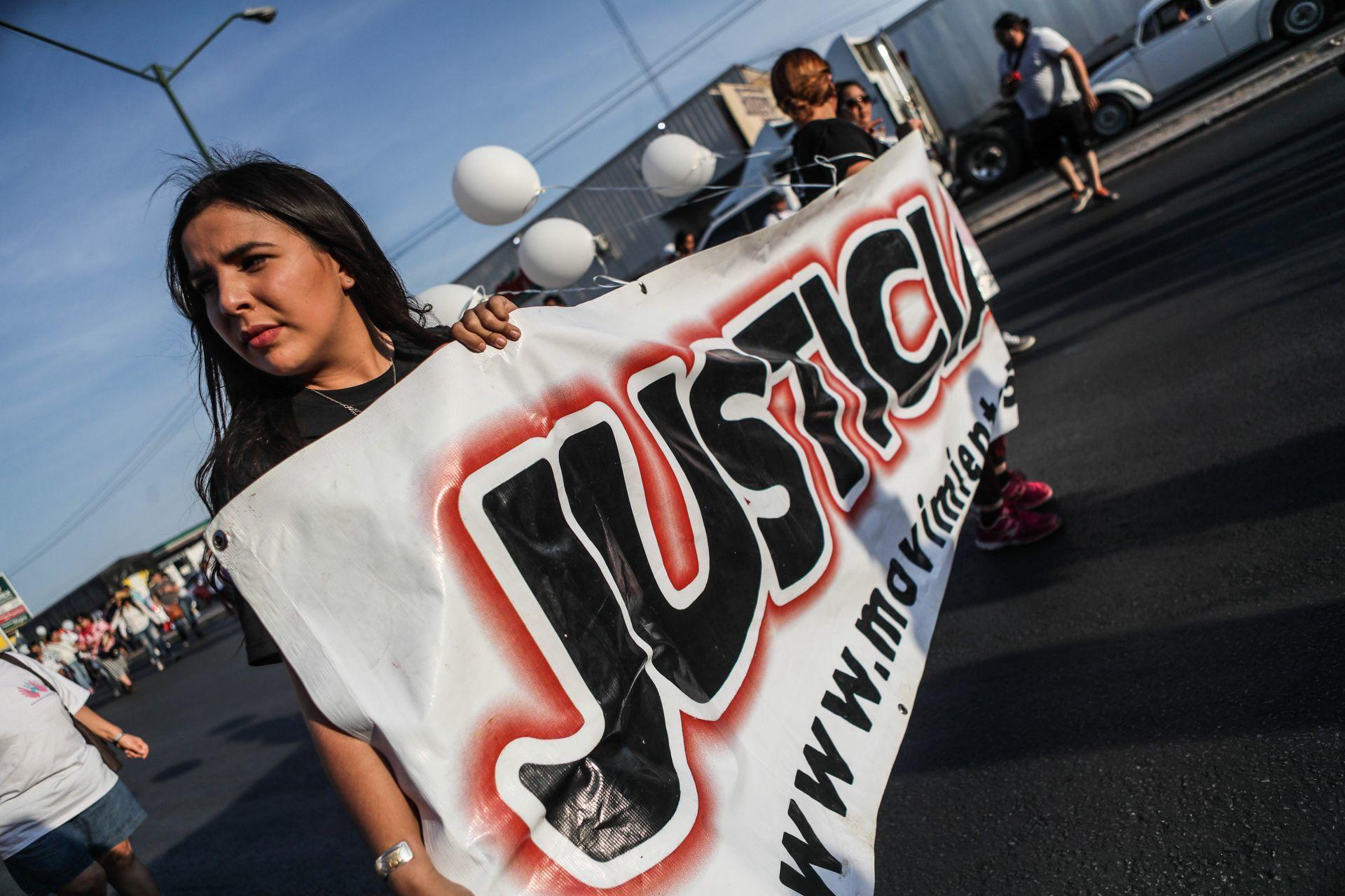 Marcha para conmemorar a las víctimas del incendio de la Guardería ABC