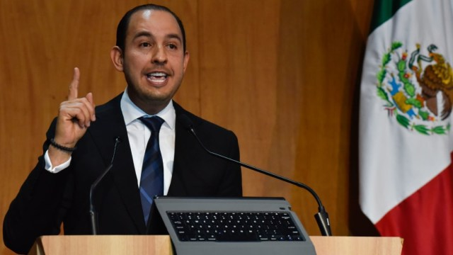 PAN no pide renuncia de AMLO: Marko Cortés