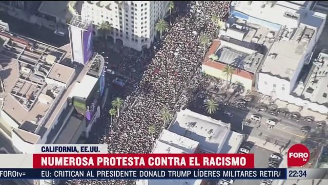 FOTO: 7 de junio 2020, mas de 30 protestas se registraron en california por la muerte de george floyd