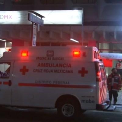 FOTO: Muere hombre tras arrojarse a las vías del Metro San Cosme en CDMX, el 01 de junio de 2020