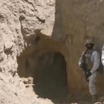 Fuerzas Federales descubren túnel y toma clandestina de Gas LP en Puebla