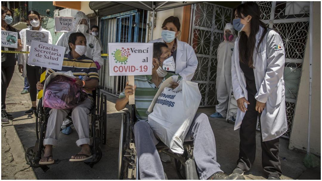 Pacientes superan el COVID-19