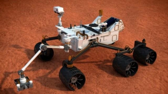 Rover de exploración de Marte, Ilustración, Getty Images