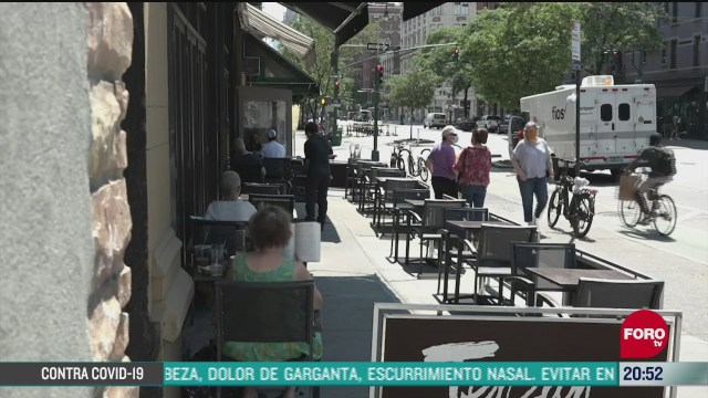 nueva york inicia fase 2 de reapertura por coronavirus
