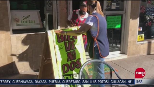 FOTO: 20 de junio 2020, nueve municipios fronterizos de chihuahua reabriran negocios