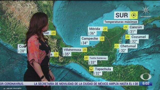onda tropical 7 y baja presion provocara lluvias fuertes en mexico