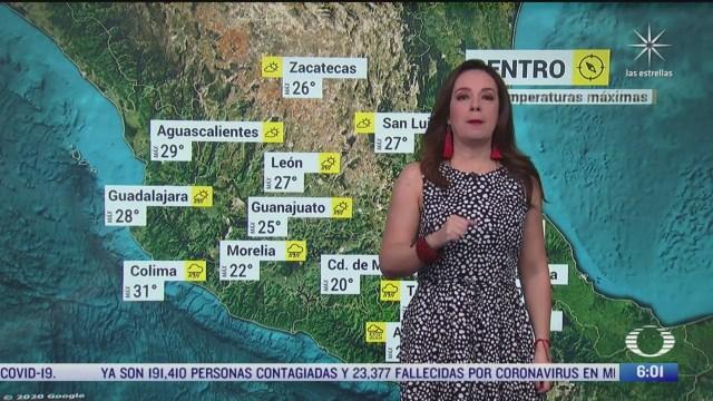 onda tropical 7 y zona de baja presion provocaran lluvias fuertes en mexico