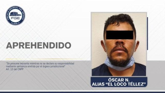 """Detienen en Tlaxcala al """"Loco Téllez', presunto líder huachicolero de Puebla"""