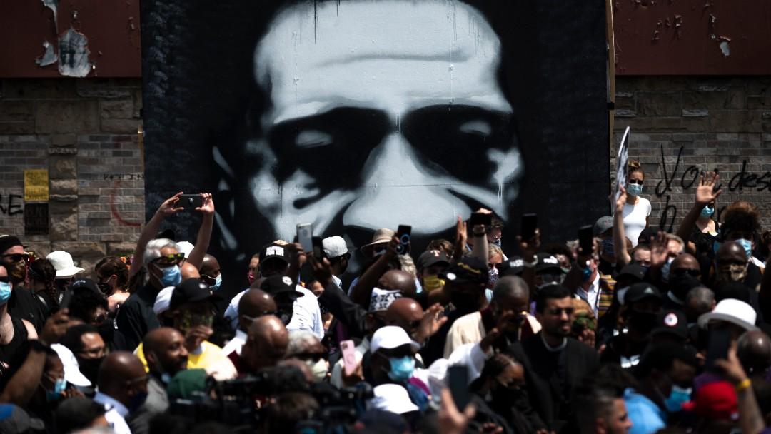 Miles protestan por la muerte de George Floyd. Getty Images