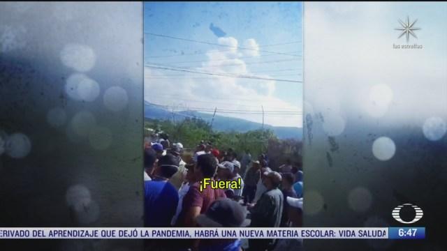 pobladores de huamuxtitlan guerrero piden la renuncia de dos policias