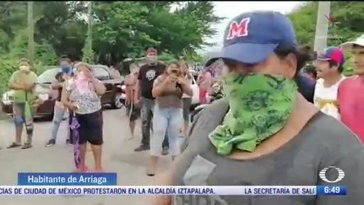 pobladores impiden fumigacion en chiapas