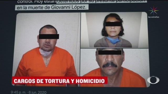 procesan a tres policias de ixtlahuacan de los membrillos por muerte de giovanni lopez