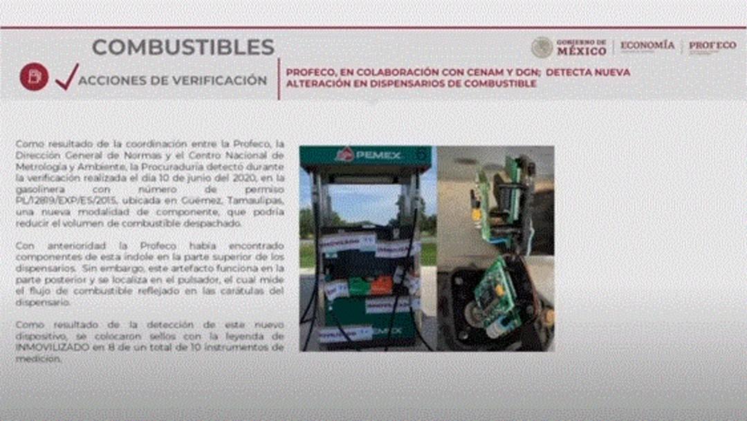 Foto: Profeco detecta nuevo dispositivo para 'robar' gasolina a consumidores