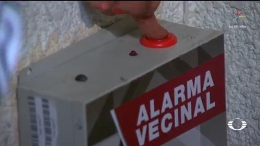 promueven alarmas vecinales para denunciar robos o agresiones contra mujeres