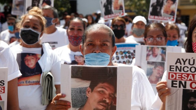 Cientos protestan en las calles de Jalisco. Efe