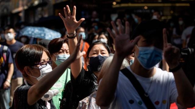 Protestas en China contra la ley de seguridad