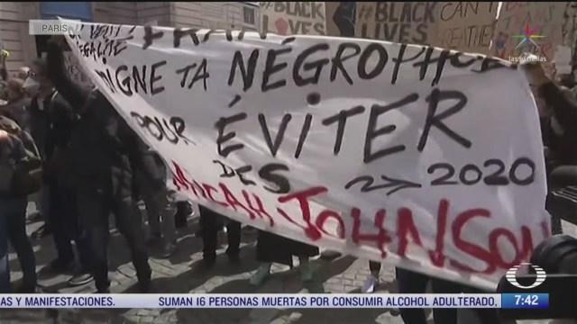 protestas en el mundo contra la desigualdad racial