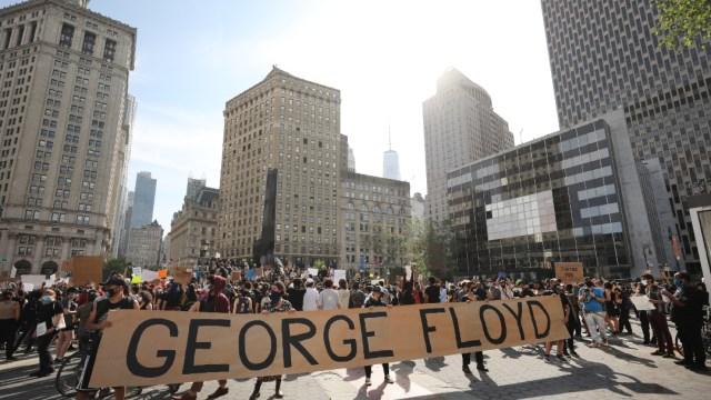 """FOTO: Miles protestan en EEUU en jornada pacífica bajo la consigna """"Las vidas negras importan"""", el 6 de junio de 2020"""