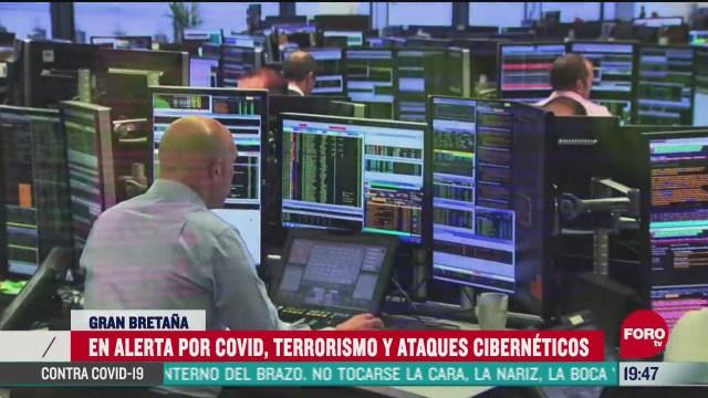 reino unido en alerta por covid 19 terrorismo y ciberataques