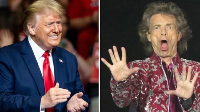 Los Rolling Stones advierten demanda a Trump si utiliza sus canciones en mítines