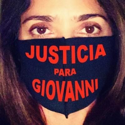 Salma Hayek se une a la demanda #JusticiaParaGiovanni