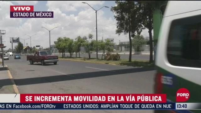 FOTO: se incrementa trafico en estado de mexico pese a pandemia