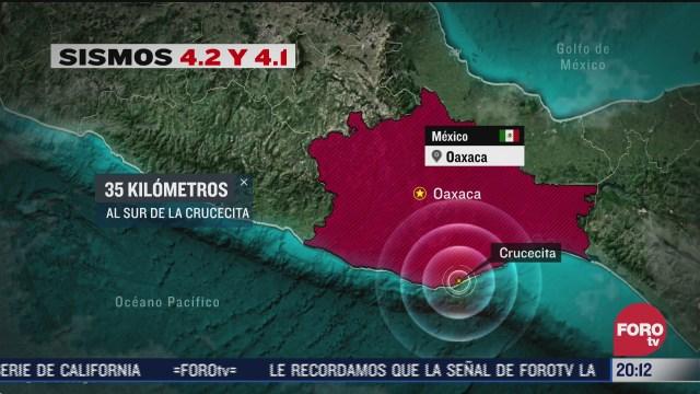 nuevos sismos en crucecita oaxaca, ilustración