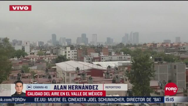 FOTO: se reporta de buena a mala la calidad del aire en valle de mexico