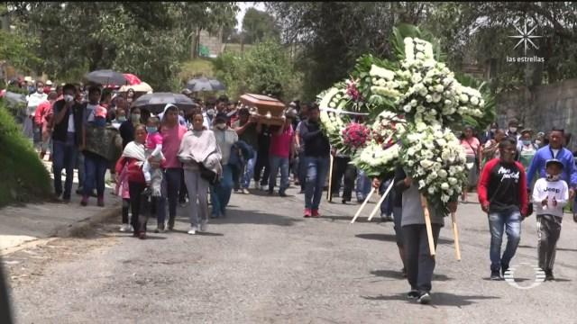 funeral de Gabriela Gómezvíctima de fuego cruzado en ataque a García Harfuch