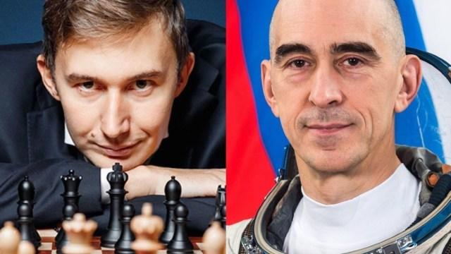 Partida de ajedrez Espacio-Tierra se jugará desde la EEI y Rusia