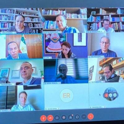 Presentan iniciativa para dar legalidad a sesiones virtuales del Congreso de la Unión