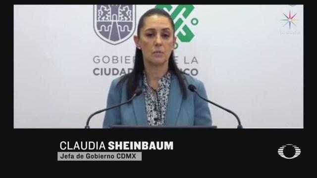 sheinbaum aclara cifra de fallecimientos en el valle de mexico