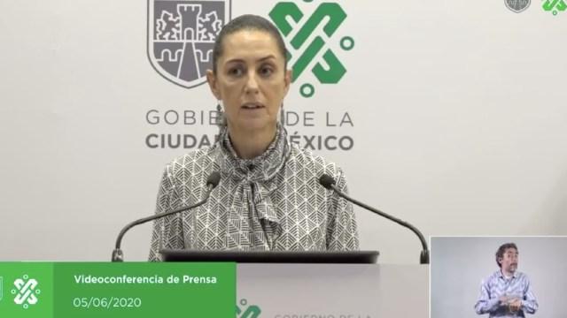 Claudia Sheinbaum, jefe de Gobierno de la CDMX. (Foto: Noticieros Televisa)