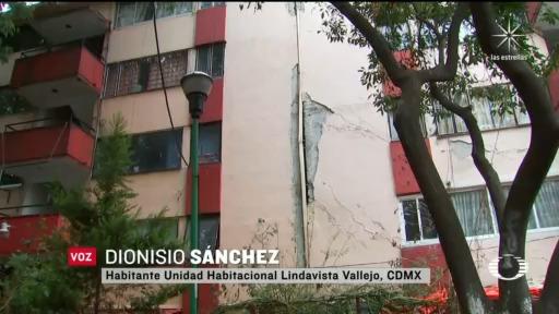 Sismo de 7.5 daña edificios afectados el 19S de 2017